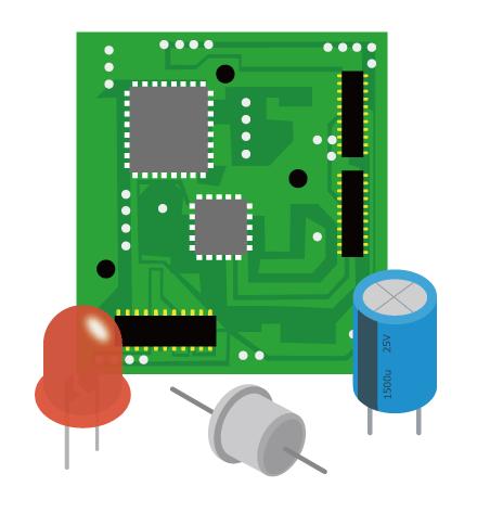 H-150用途提案(弱電部品のめっき剥離)