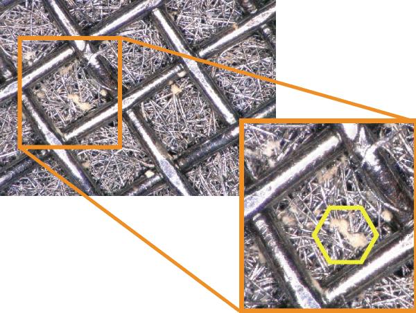 H-190N,ステンレスフィルター,剥離剤