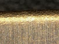 ベリリウム銅に化学研磨処理を施す前